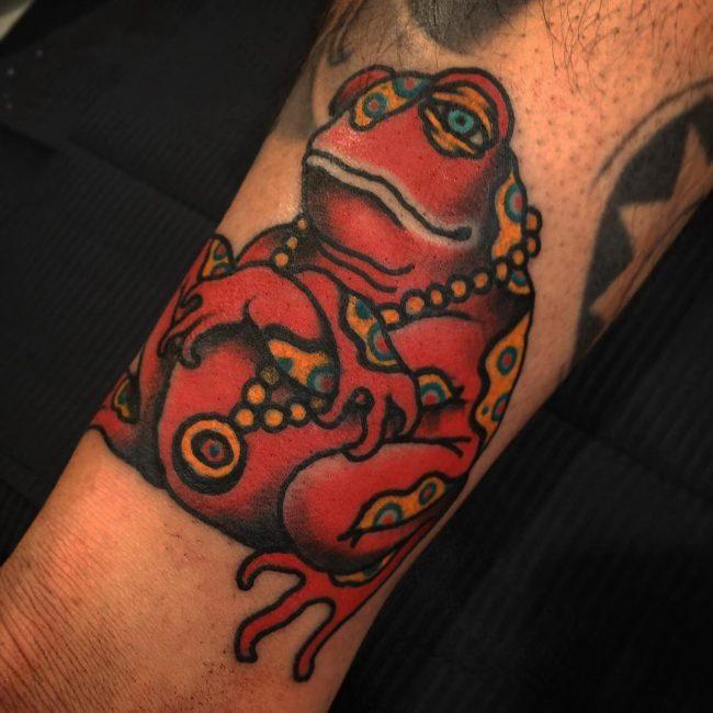 Frog Tattoo 65