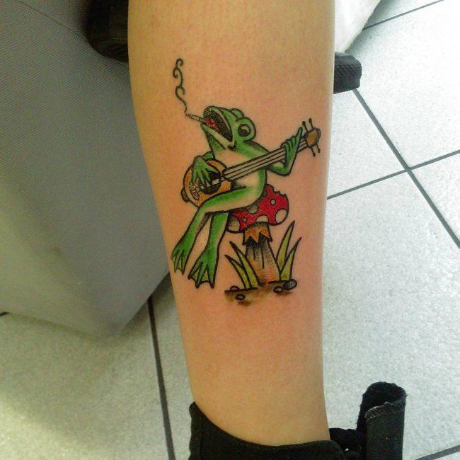 Frog Tattoo 66