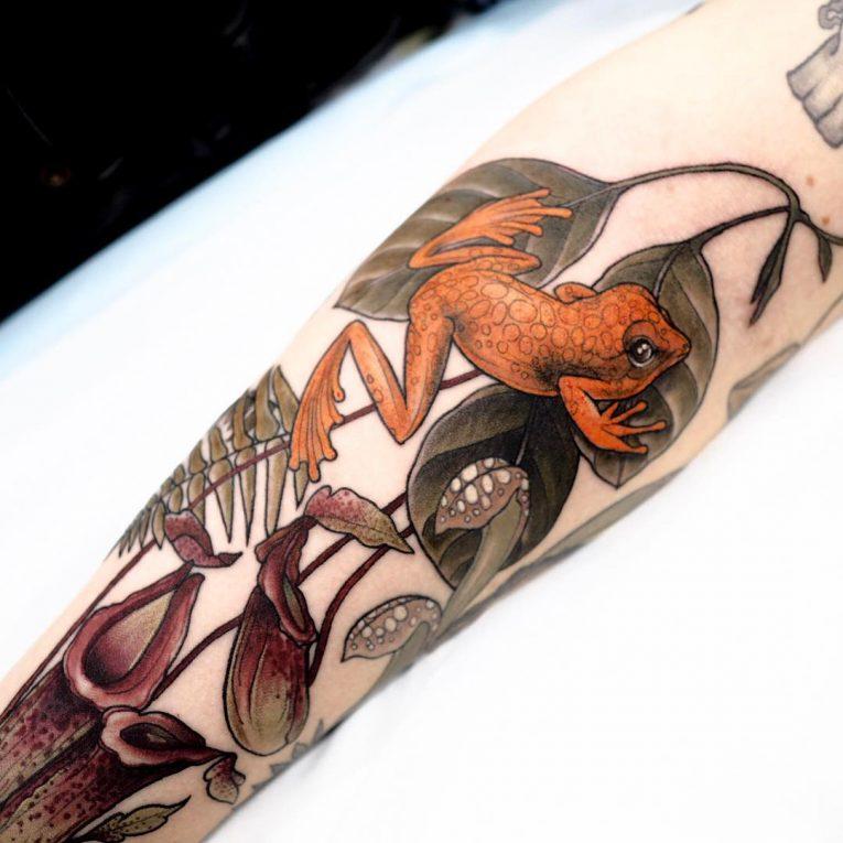Frog Tattoo 71
