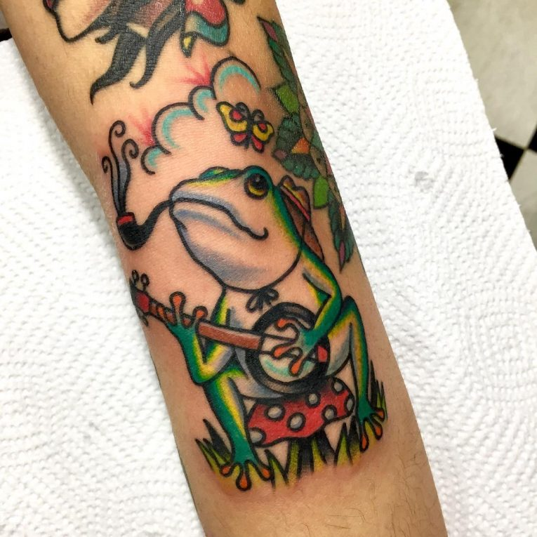Frog Tattoo 75