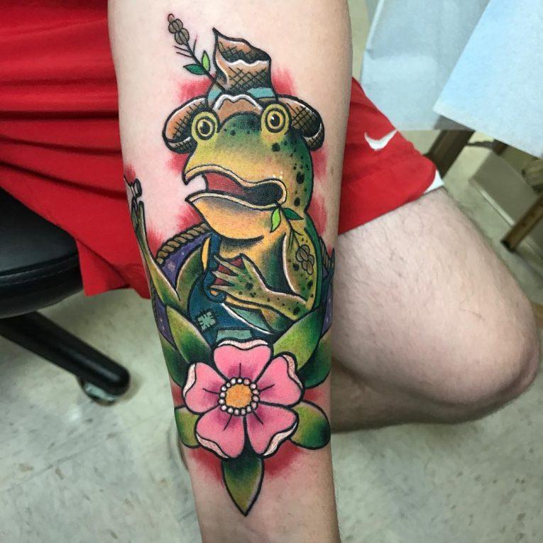 Frog Tattoo 77