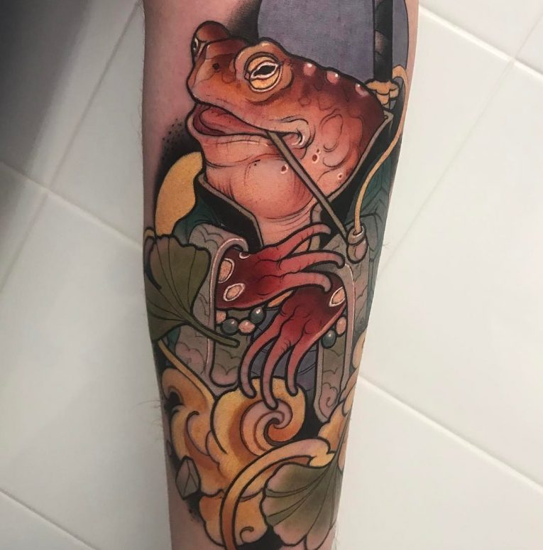 Frog Tattoo 79