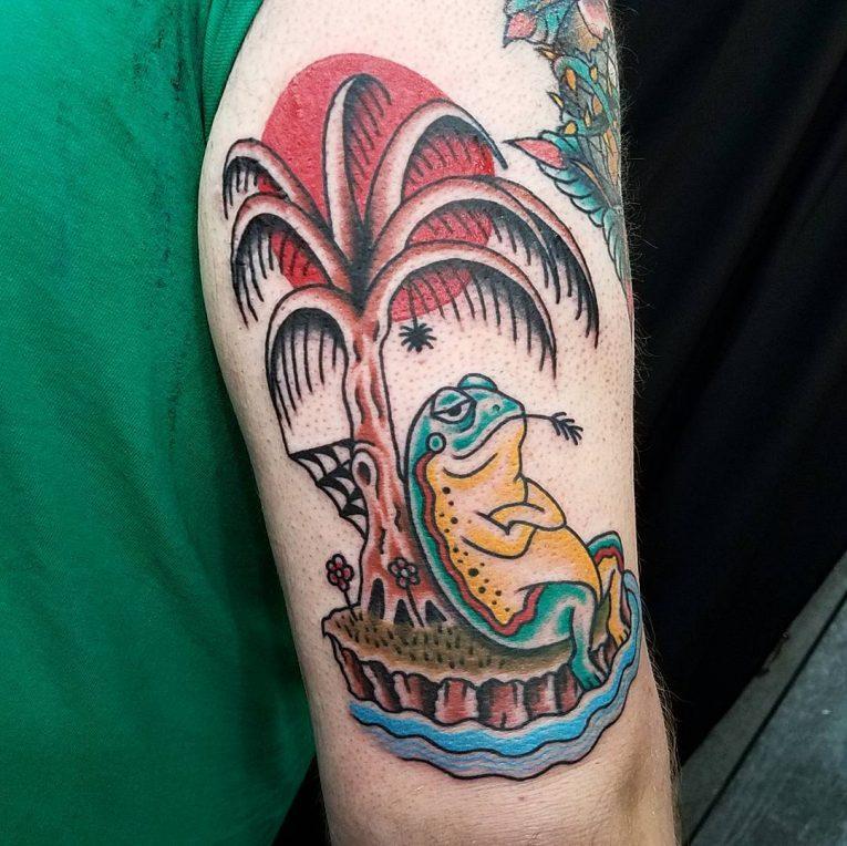 Frog Tattoo 80