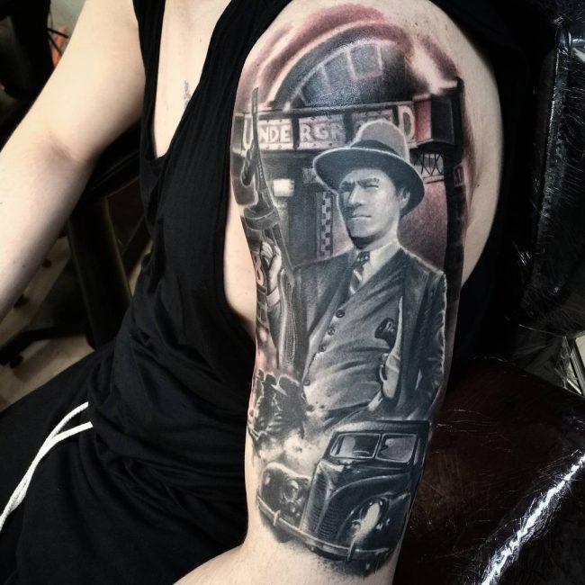 Gangster Tattoo 31