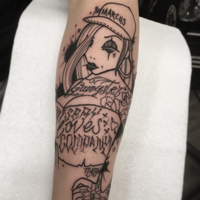Gangster Tattoo 32