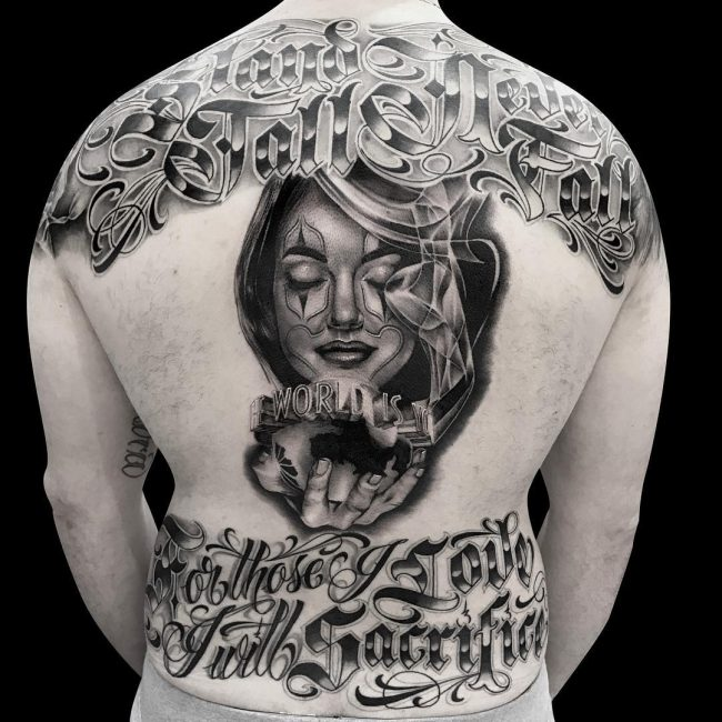 Gangster Tattoo 35