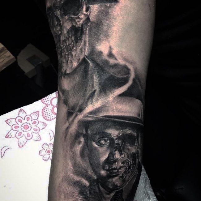 Gangster Tattoo 36