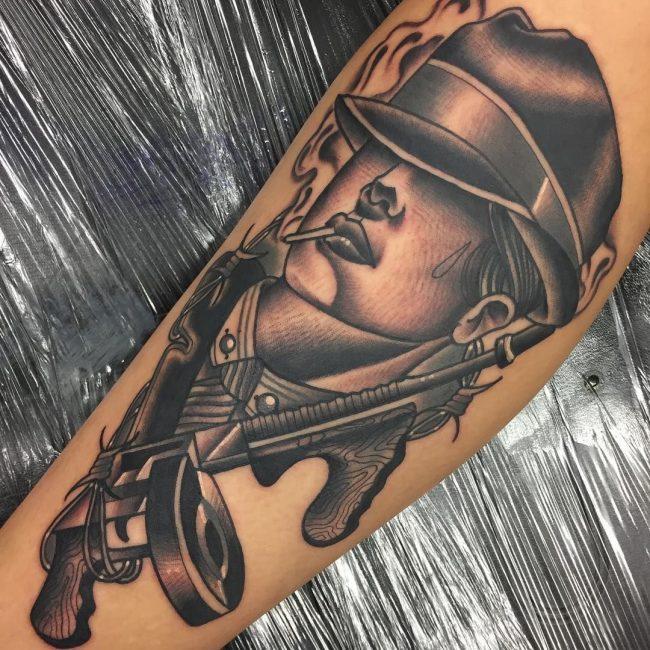 Gangster Tattoo 38