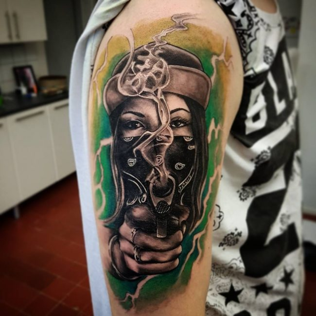 Gangster Tattoo 39