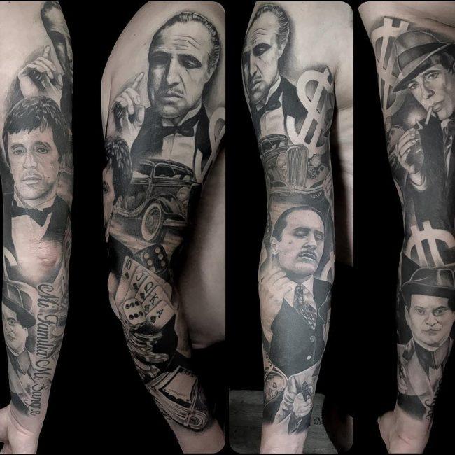 Gangster Tattoo 40