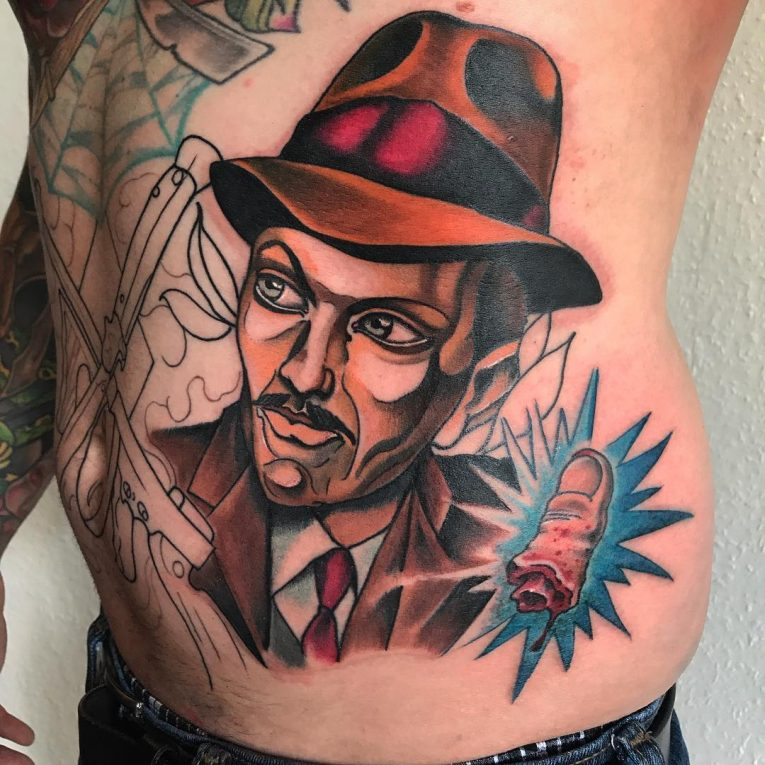 Gangster Tattoo 41