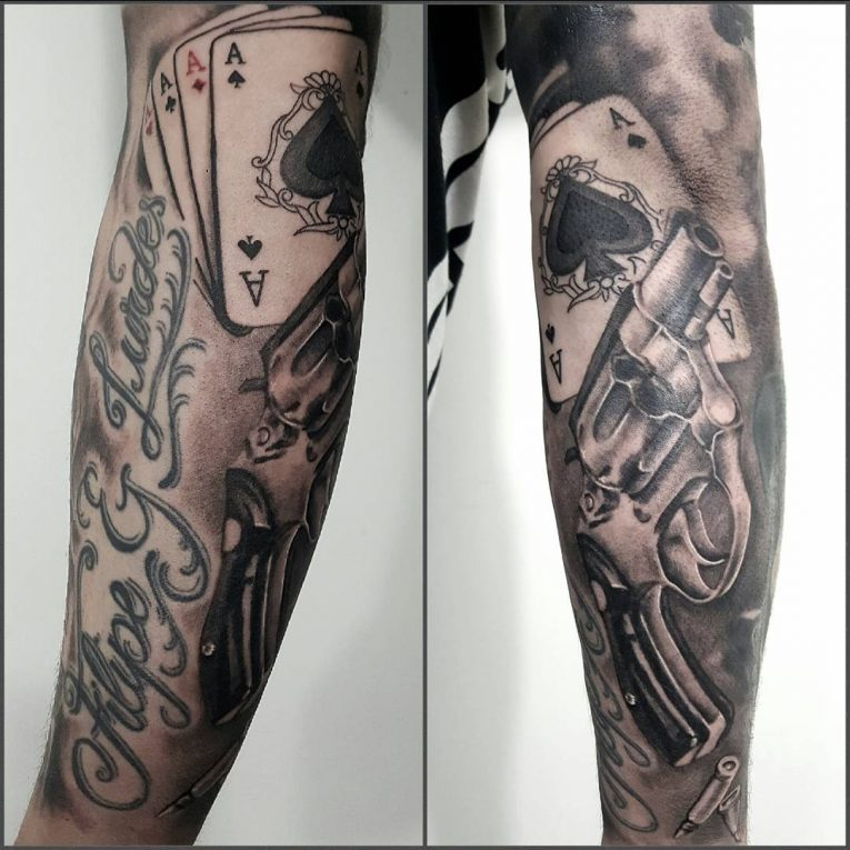 Gangster Tattoo 57