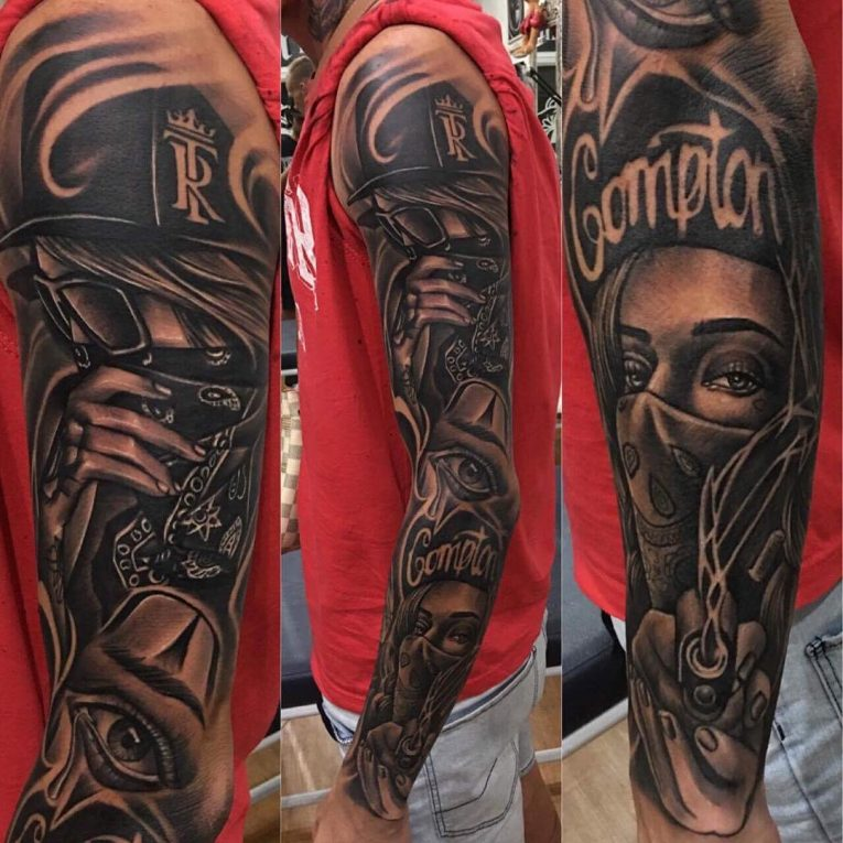 Gangster Tattoo 59