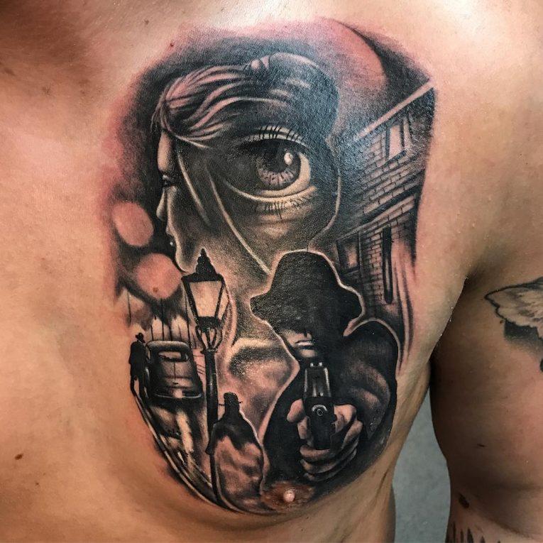 Gangster Tattoo 61