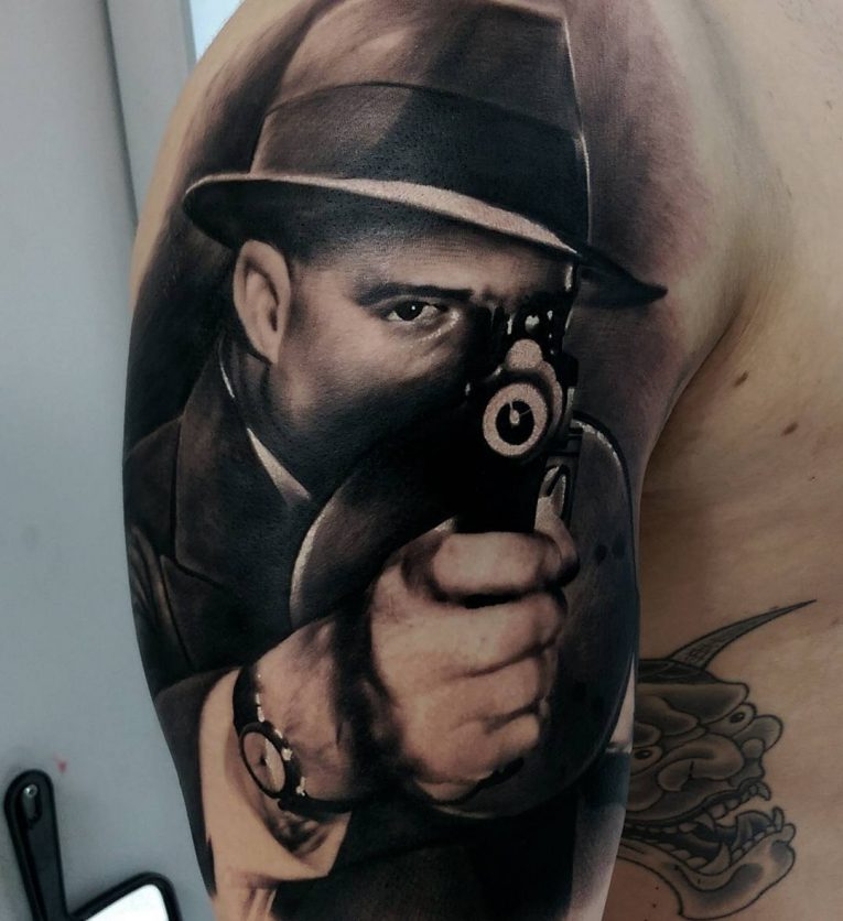 Gangster Tattoo 62