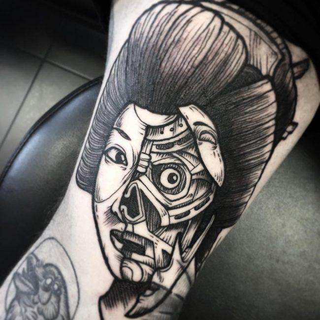 Geisha Tattoo 51