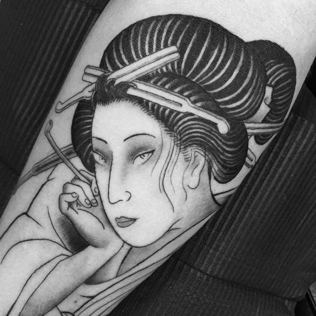 Geisha Tattoo 52