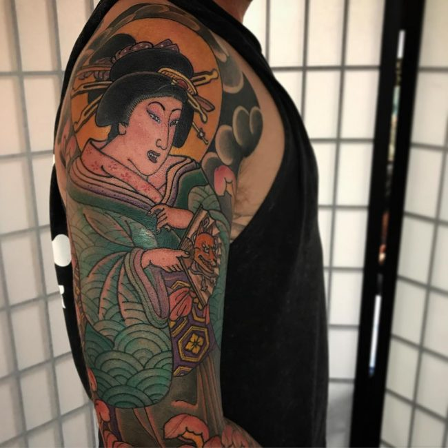 Geisha Tattoo 53