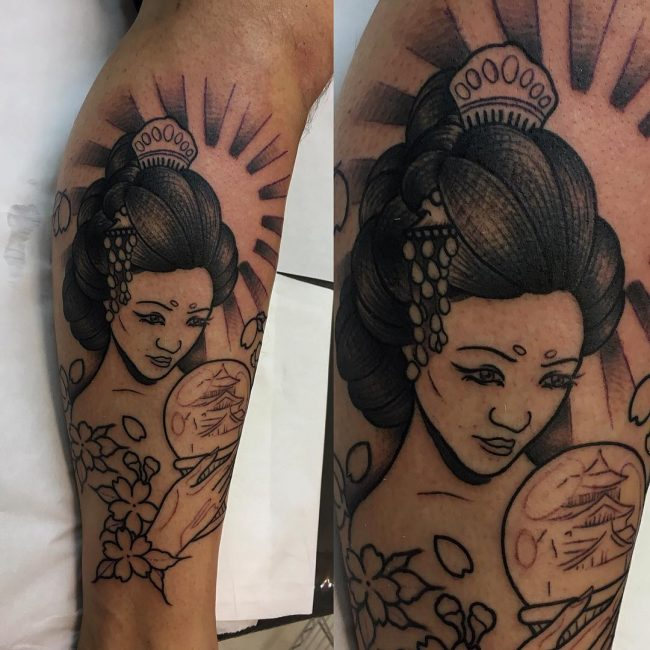 Geisha Tattoo 54