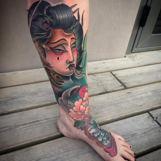 Geisha Tattoo 57
