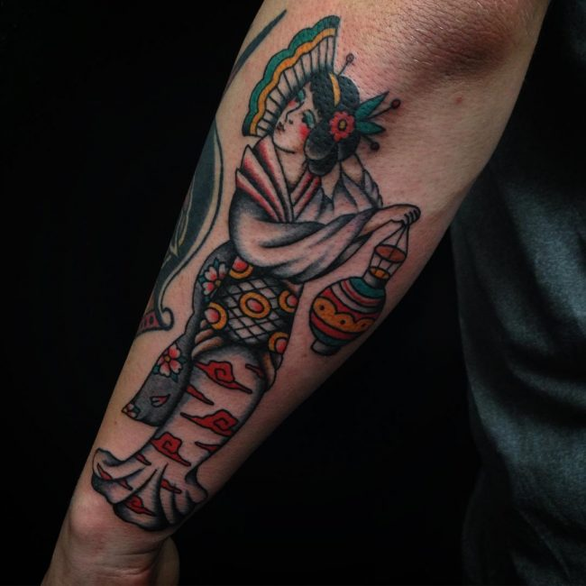 Geisha Tattoo 58