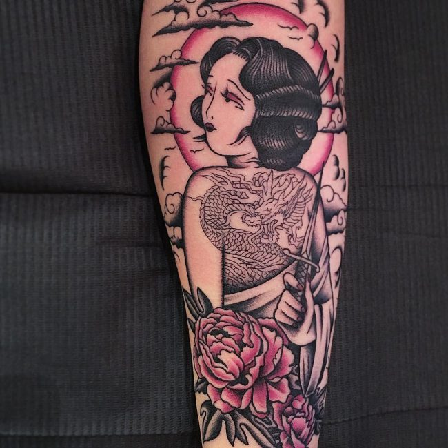 Geisha Tattoo 59