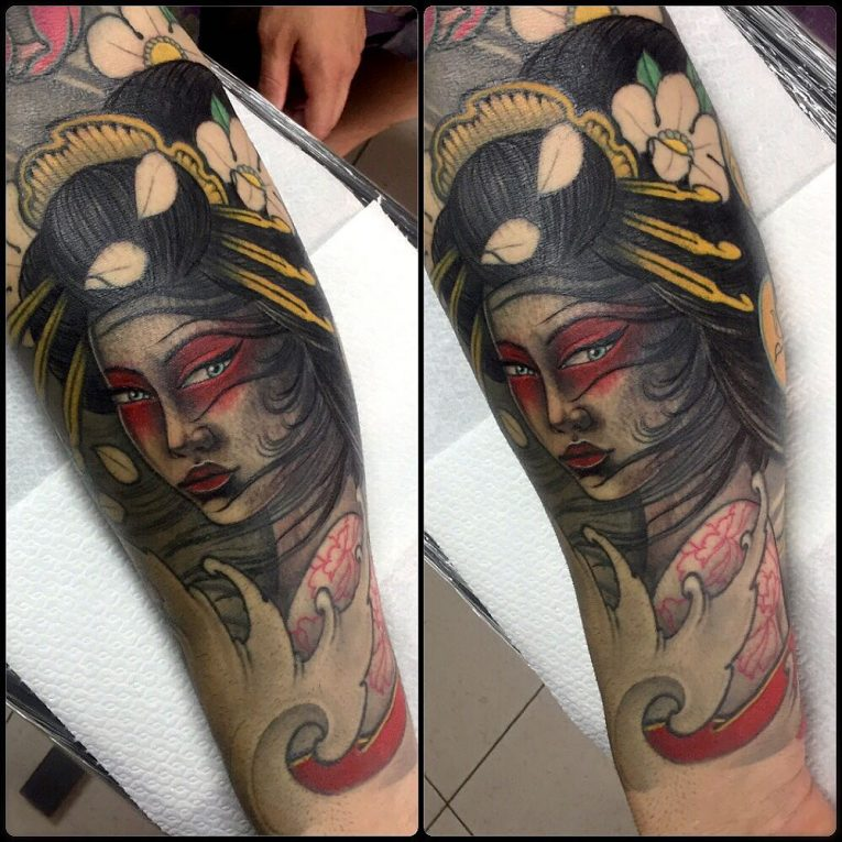 Geisha Tattoo 62