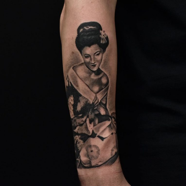 Geisha Tattoo 63