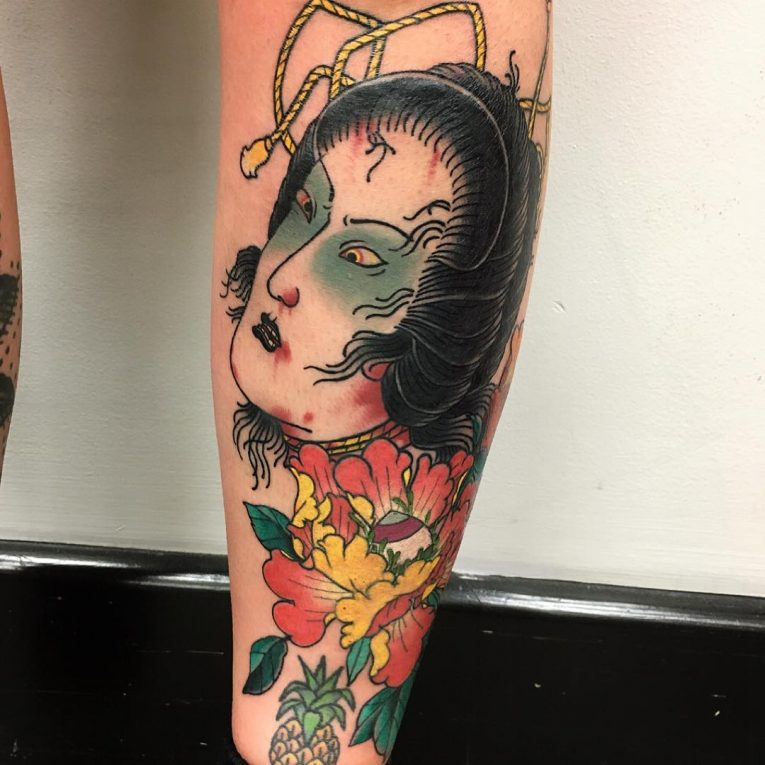 Geisha Tattoo 64