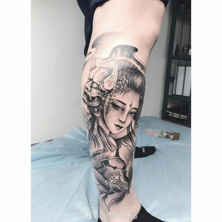Geisha Tattoo 65