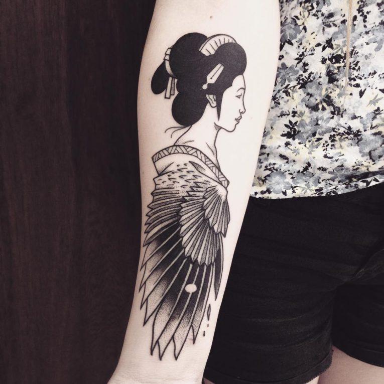 Geisha Tattoo 66