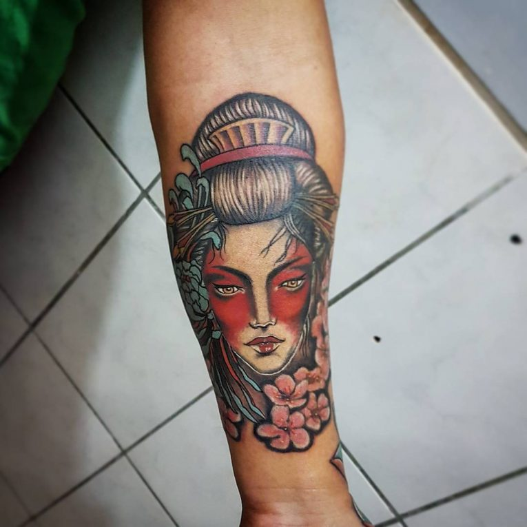 Geisha Tattoo 68