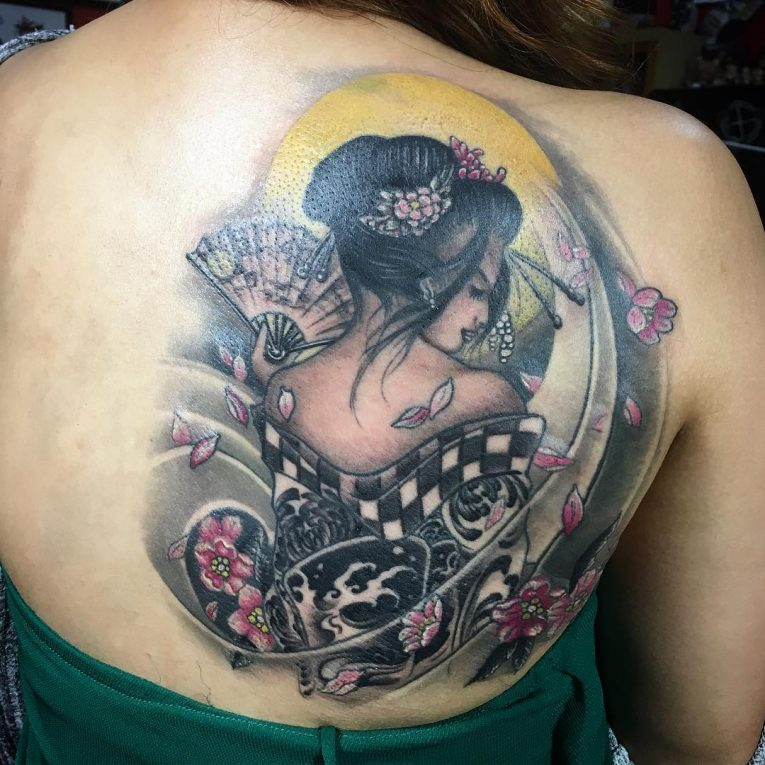 Geisha Tattoo 70