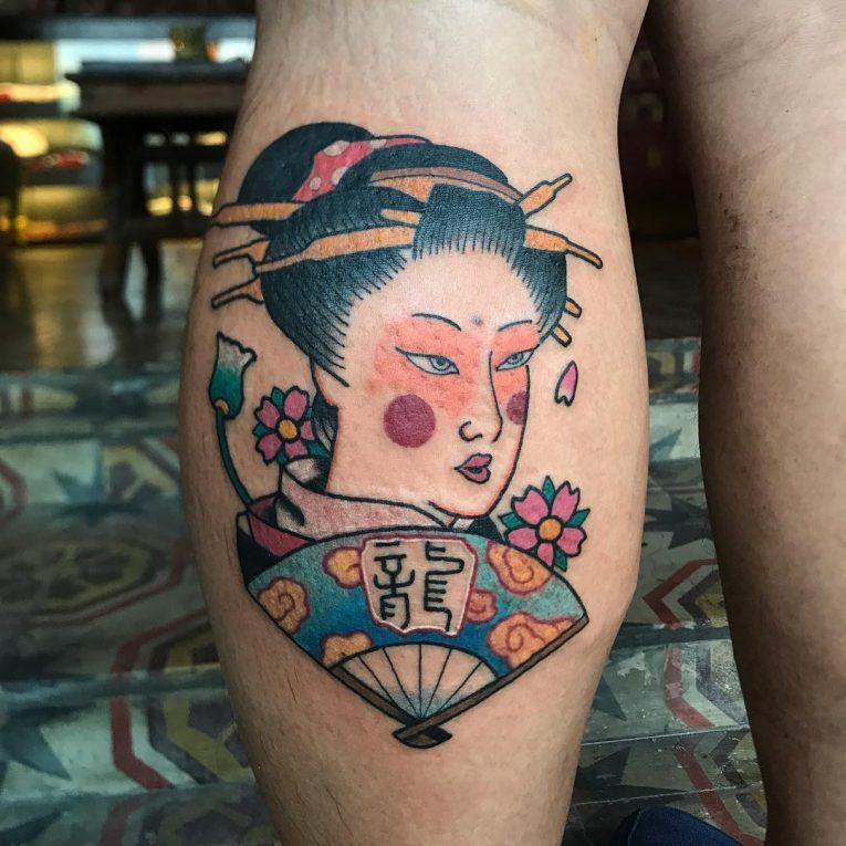 Geisha Tattoo 71