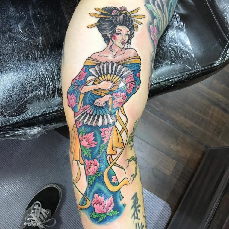 Geisha Tattoo 72