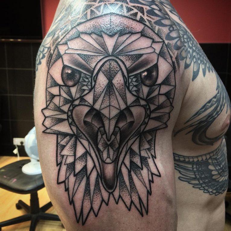 Geometric Tattoo 100