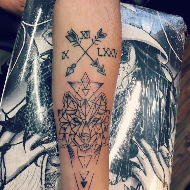 Geometric Tattoo 82