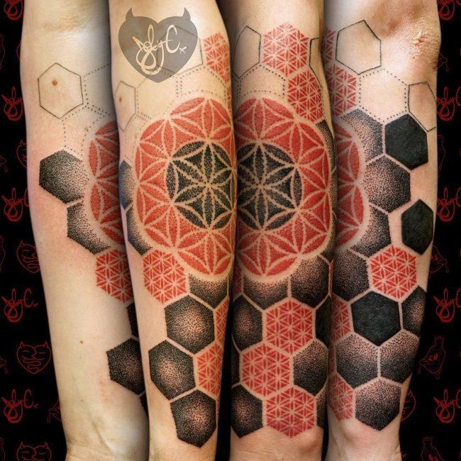 Geometric Tattoo 83