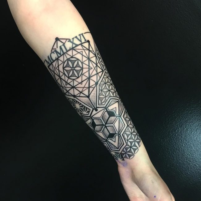 Geometric Tattoo 84