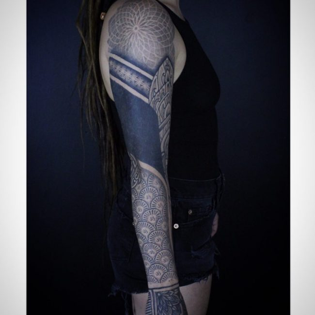 Geometric Tattoo 85