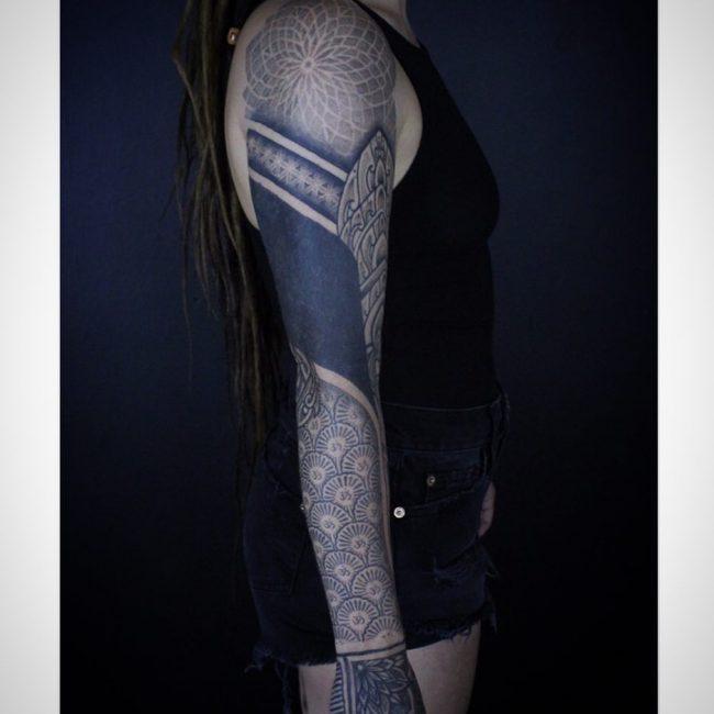 Geometric Tattoo 85