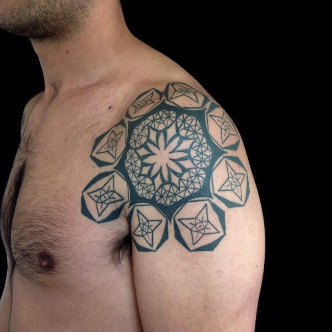 Geometric Tattoo 87