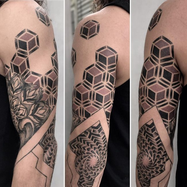 Geometric Tattoo 89
