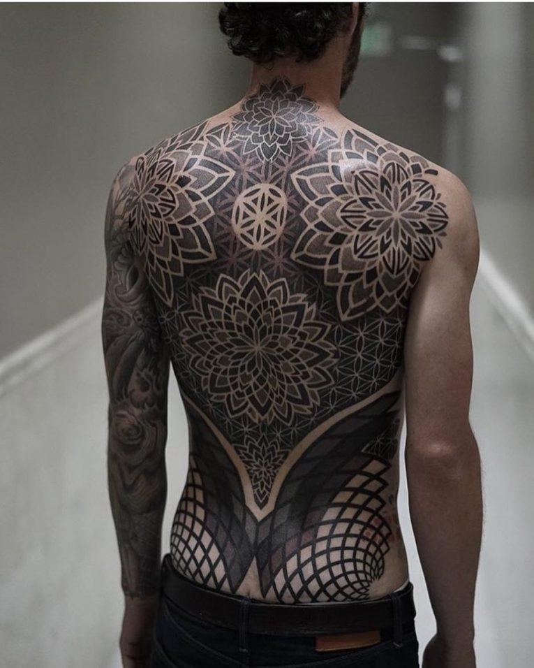 Geometric Tattoo 92