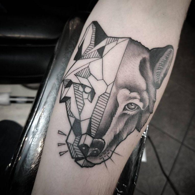 Geometric Tattoo 93