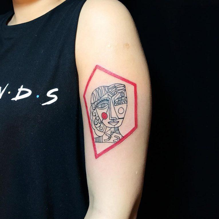 Geometric Tattoo 97