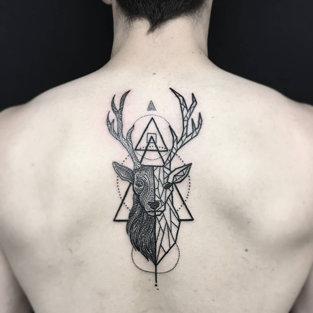 100+ Geometric Tattoo Designs & Meanings
