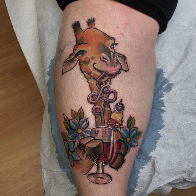 Giraffe Tattoo 103