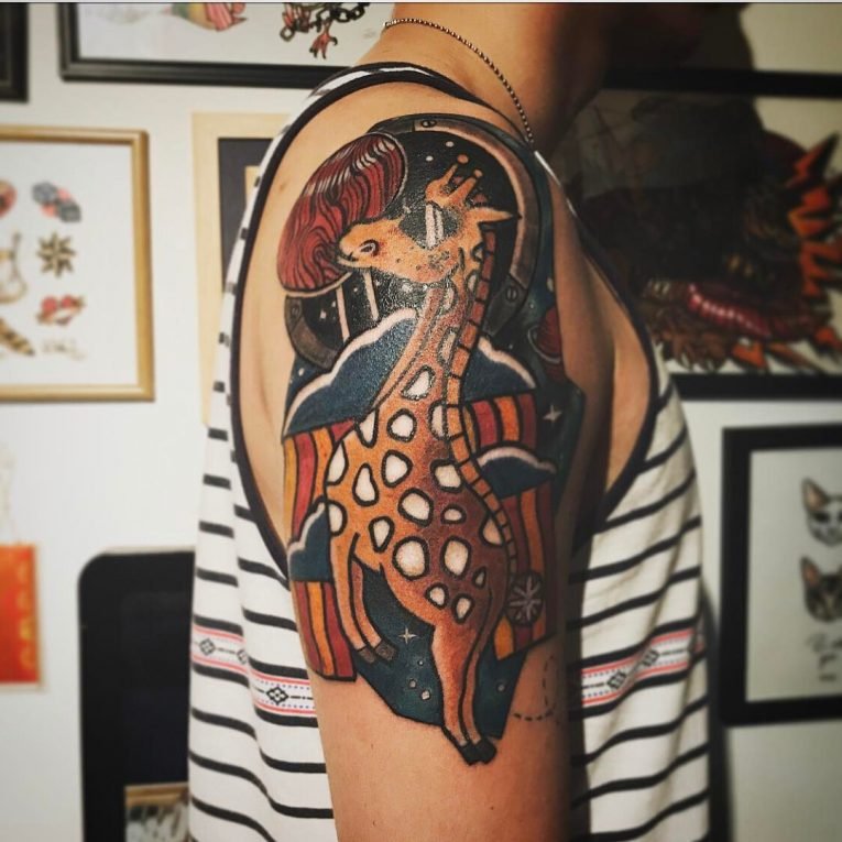 Giraffe Tattoo 112