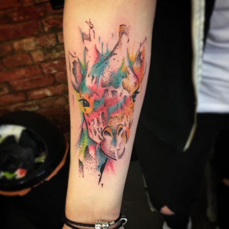 Giraffe Tattoo 113